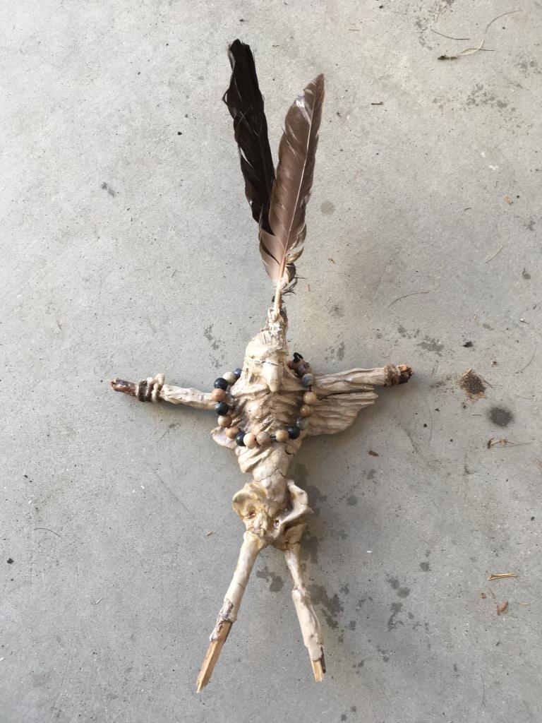 eagle man front