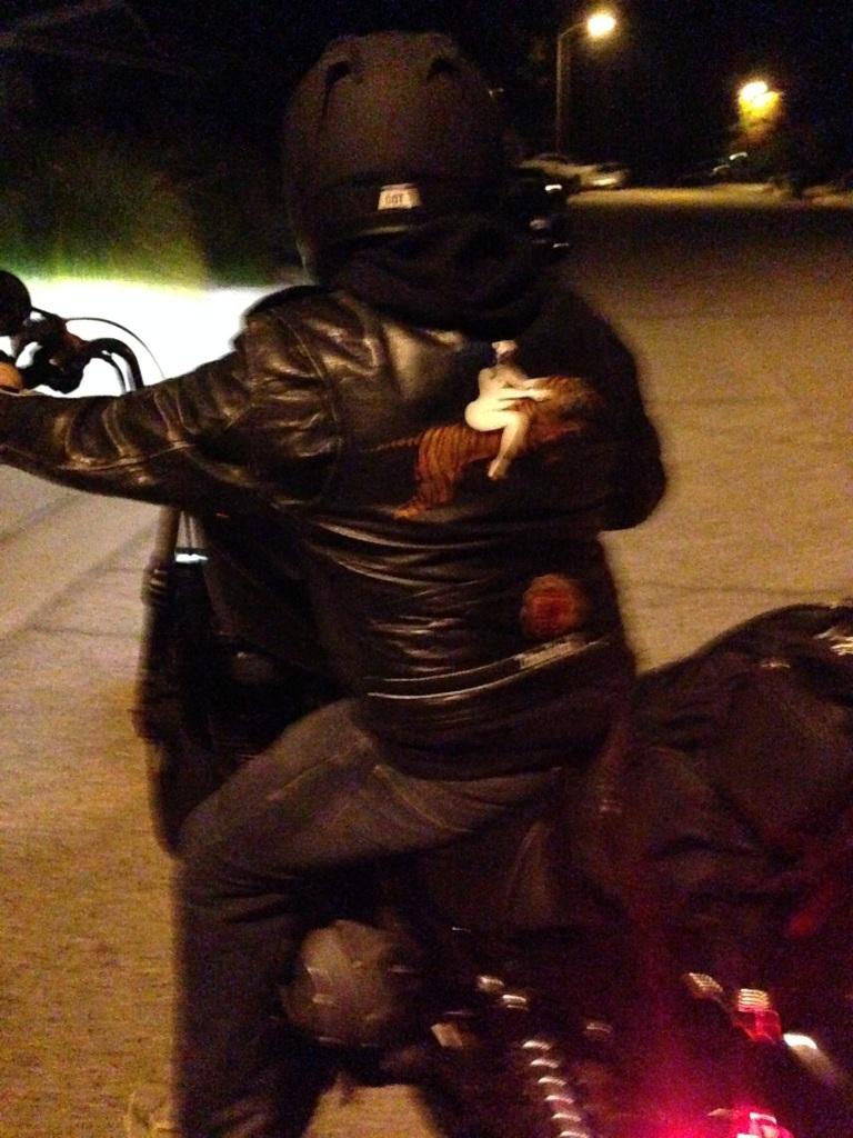 jacket at night