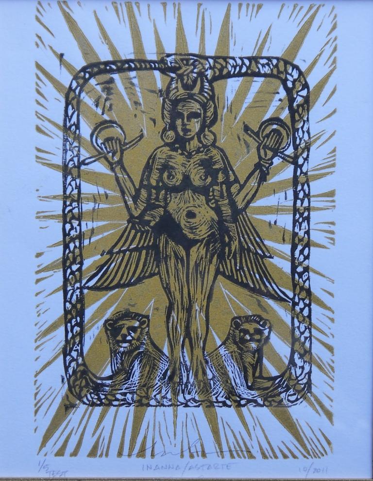 print- inanna:astarte-gold copy